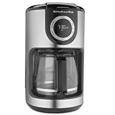 Shop KitchenAid KCM1202 12 Cup Glass Carafe Coffee Maker