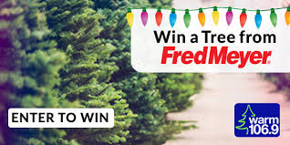 Fred Meyer Christmas Trees by Free Trees 3 With Aj The New Warm 106 9