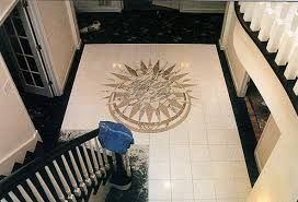 Small Foyer Tile Ideas by Made To Measure Custom Flooring Designs