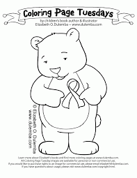 Breast Cancer Awareness Coloring Pages