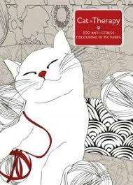 Cat Therapy Coloring Book By Charlotte Segond Rabilloud Three Free Pages To