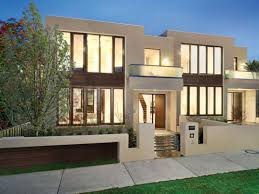 100 Townhouse Facades Twin Townhomes House Design Flat Roof House