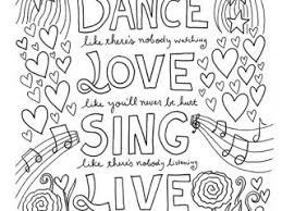 Printable Coloring Pages Quotes 12 Inspiring Quote