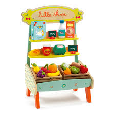 Hape Kitchen Set Canada by Little Shop Market Multicoloured Djeco Toys And Hobbies Teen