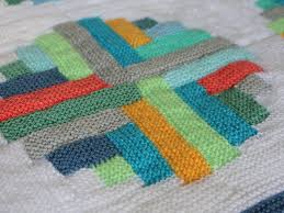 Mack and Mabel Portholes Log Cabin Blanket a new pattern