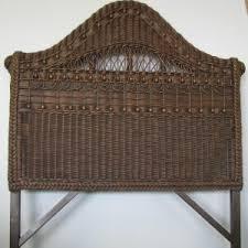 Seagrass Headboard Pottery Barn by Bedroom Wicker Bedroom Furniture With Seagrass Headboard