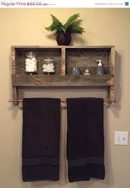 10 Innovative And Excellent DIY Ideas For The Little Bathroom 4 Pallet BathroomRustic ShelvesBathroom