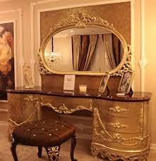casa padrino barock schlafzimmer set braun gold 1