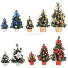 Mini Christmas Tree Decor Desk Table Festival Party Ornament Xmas 20 30 40cm US