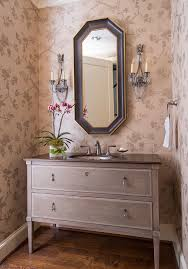 powder room vanities Powder Room Traditional with downstairs