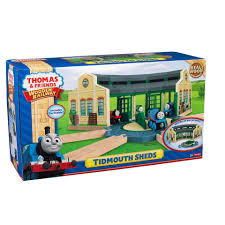 wooden railway tidmouth sheds toys r us