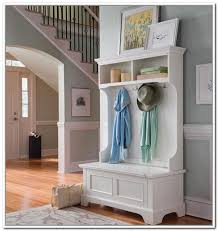 Image Of Idea Entryway Coat Rack And Storage Bench