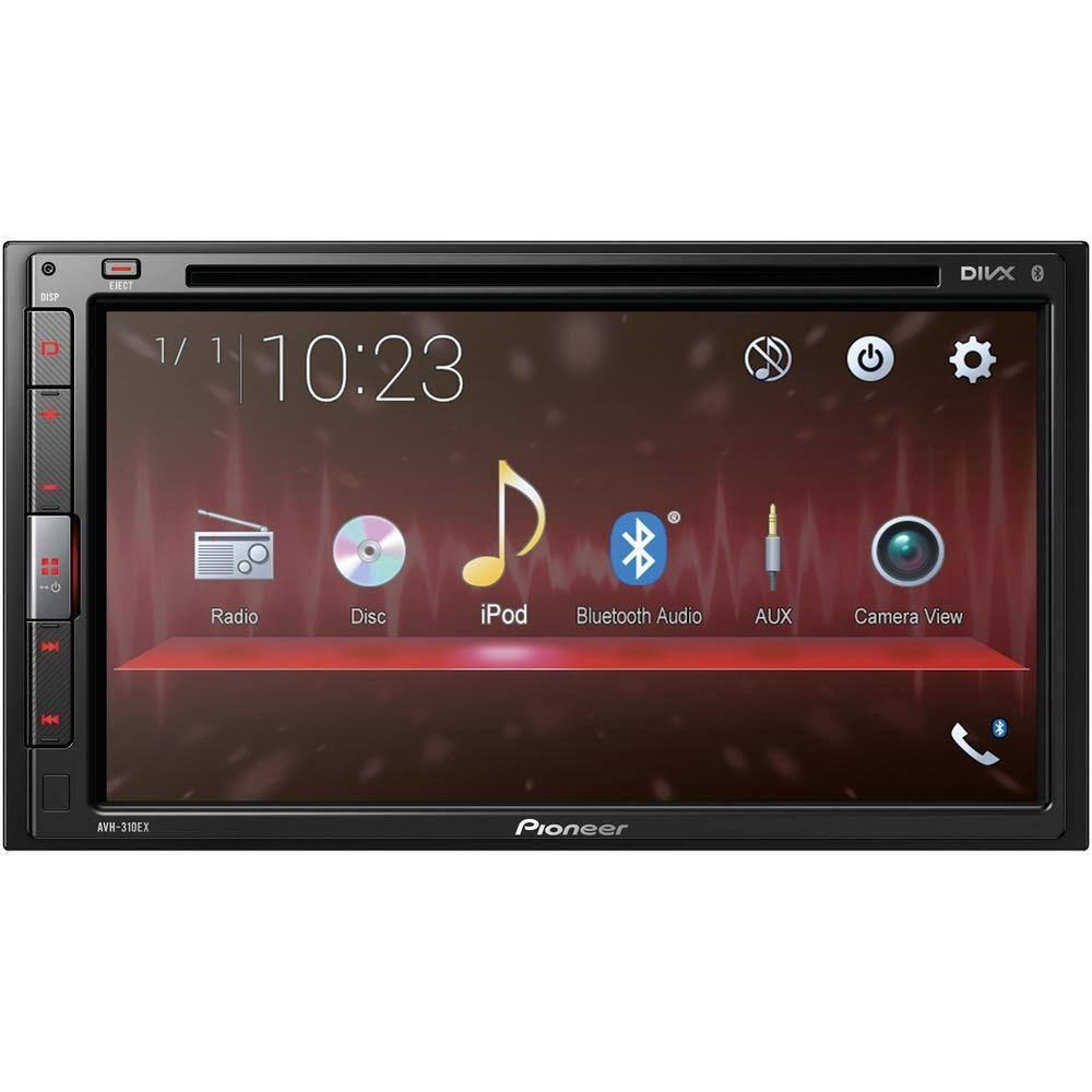 Pioneer AVH310EX Car DVD Player - 2 DIN, Touchscreen, 6.8""