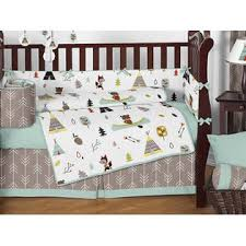 sweet jojo designs outdoor adventure nature baby bedding 9pc crib