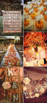 Fall Wedding Decorations Archives