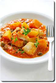 cuisiner morue baccalà al pomodoro morue en sauce tomate pomme de terre et
