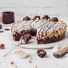 glutenfreie kirsch nuss torte