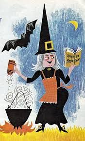 Vintage Halloween Collector Weeny Witch by My Vintage Book Collection In Blog Form In The Shop