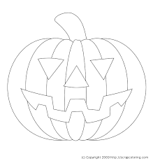 Pumpkin Coloring Pages Free Printable