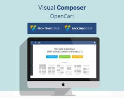 Visual Composer For OpenCart