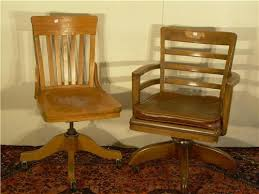 Heywood Wakefield Chairs Antique by Two Swivel Office Chairs One Oak Arts U0026 Crafts By Heywood
