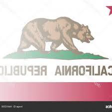 Stock Illustration California State Flag Fade Background