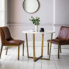 Cult Living Gatsby Round Marble Dining Table, White And Gold 90cm Khloe Round Marble Coffee Table Vida Living Carra Ding In Bone White Oracle 130cm Grey 4 Parker Velvet Knocker Chairs Tulip Tableround Replica Dia1200 Buy 6 Seater Black Set With Marion I Contemporary And Side Chair By Fniture Of America At Del Sol Vesper 51 Tables That Save On Space But Never Skimp For Awesome 1 5m Really Like This Table Chair Combo Probably Don Crema With Freya Selecting Royals Courage