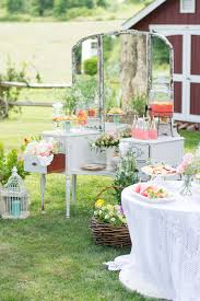 Vintage Garden Birthday Party Ideas For Tweens Set Up A Dessert Table With