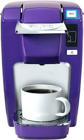 Keurig Coffee Maker Colors Colored Mini Plus Single Serve Brewer Purple