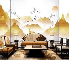 wandbild tapeten platin licht luxus landschaft foto tapete