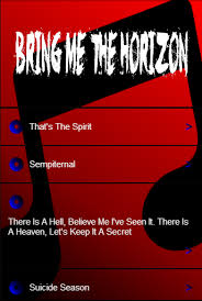 The Bedroom Sessions Bring Me The Horizon by Bring Me The Horizon Lyrics Android Apps On Google Play
