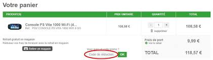 code promo cdiscount frais de port ᐅ codes promo gamecash 21 codes de réduction bons plans