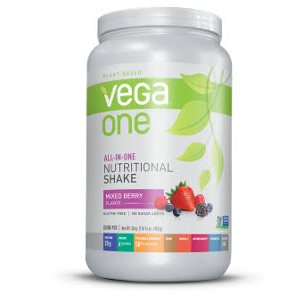 Vega One All in One Nutritional Shake - Mixed Berry, 850g