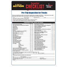 100 Truck Pre Trip Inspection Checklist For S Essential Big Fleet