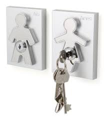 Decorative Key Holder For Wall Uk amazon com his and her key holder home u0026 kitchen