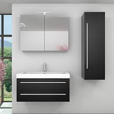 waschtische becken badezimmermöbel badmöbel set city 101