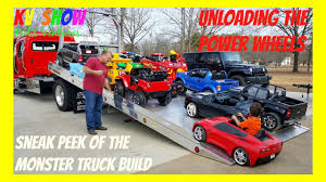 HUGE POWER WHEELS COLLECTIONS! Unloading His Ride On Power Wheels ... Power Wheels Lil Ford F150 6volt Battypowered Rideon Huge Power Wheels Collections Unloading His Ride On Paw Patrol Fire Truck Kids Toy Car Ideal Gift Power Wheel 4x4 Truck Girls Battery 2 Electric Powered Turned His Jeep Into A Ups For Halloween Vehicle Trailer For 12v Wheel Vehicles Trailers4kids Rollplay 6 Volt Ezsteer Ice Cream Truckload Fob Waco Tx 26 Pallets Walmart Big Ride On Battery Powered Toyota 6v Top Quality Rc Operated Cars Jeeps Of 2017