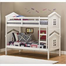 Hillsdale House Bunk Bed in White 1005BB Lowest price online on