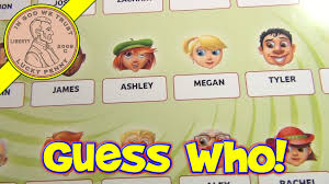 Guess Who Guessing Game