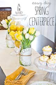 Spring Table Decorations Ideas Round Up