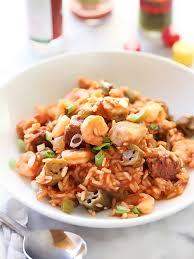 jambalaya crock pot recipe chicken sausage and shrimp jambalaya foodiecrush