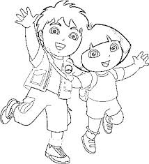 Dora And Diego Printable