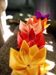 Origami Lotus Flower Tutorial Flowers By Outinthegarden