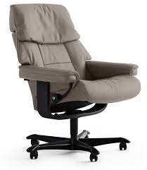 Ekornes Blues Stressless Office Chair In Paloma Leather