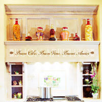 Italian Wall Quotes And Decals Kitchen