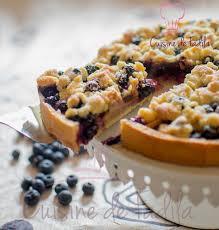 tarte aux pommes myrtilles et streusel cuisine de fadila