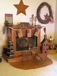 Primitive Decorating Ideas For Fireplace by 56 Best Primitive Fireplace Images On Pinterest Primitive