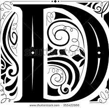 Monogram Letter D Stock Royalty Free & Vectors