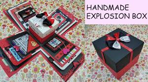Gift Idea Explosion Box For Friend Surprize Birthday Handmade