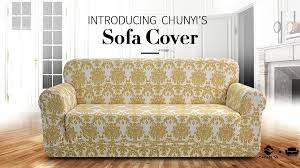Amazon Living Room Chair Covers by Amazon Com Chunyi Printed Sofa Covers 1 Piece Spandex Fabric